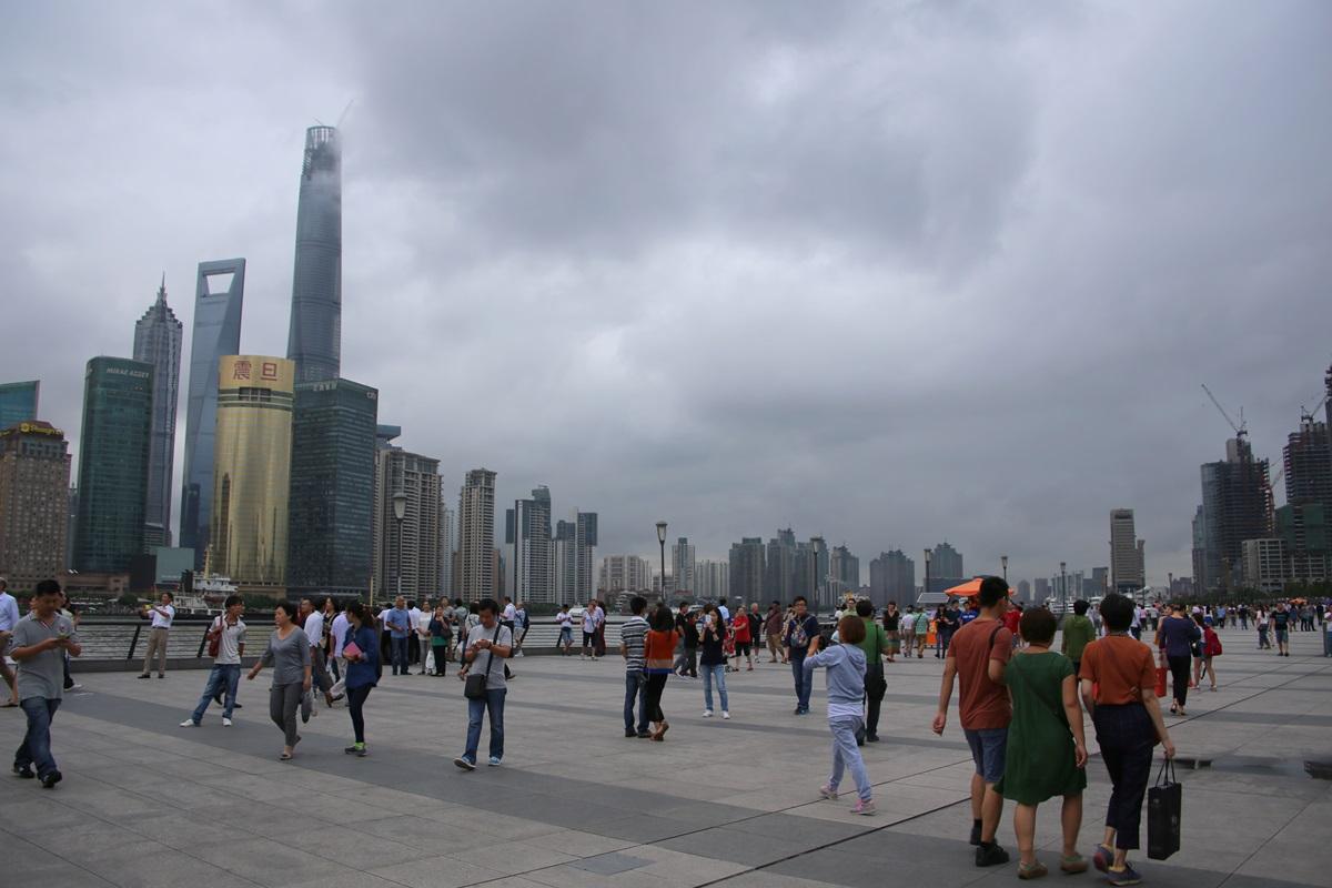 外灘 バンド ワイタン The Bund Zhongshan East 1st Rd Huangpu Shanghai (16)
