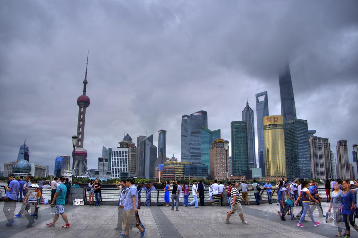 浦東エリア 超高層タワービル群 外灘 バンド ワイタン The Bund Zhongshan East 1st Rd Huangpu Shanghai (23)