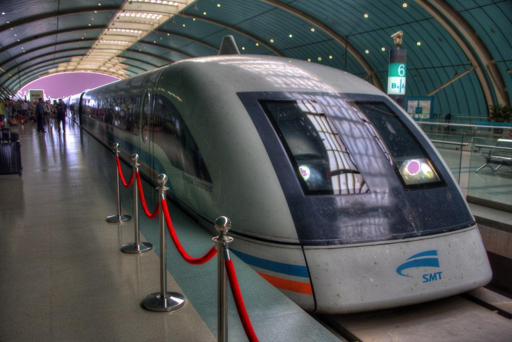 リニアモーターカー 上海浦東国際空港ー竜陽路駅 上海トランスラピッド linear motor car (10)