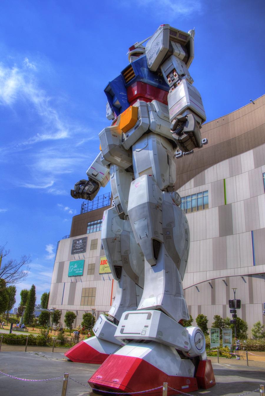 HDR写真 お台場 機動戦士ガンダム odaiba_GUNDAM_HDR (7)