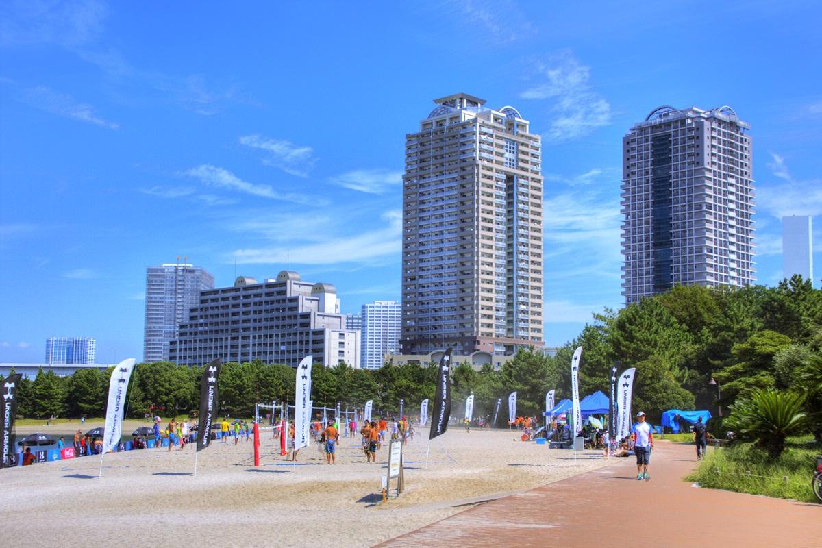 お台場ビーチ お台場海浜公園 odaiba_beach (3)