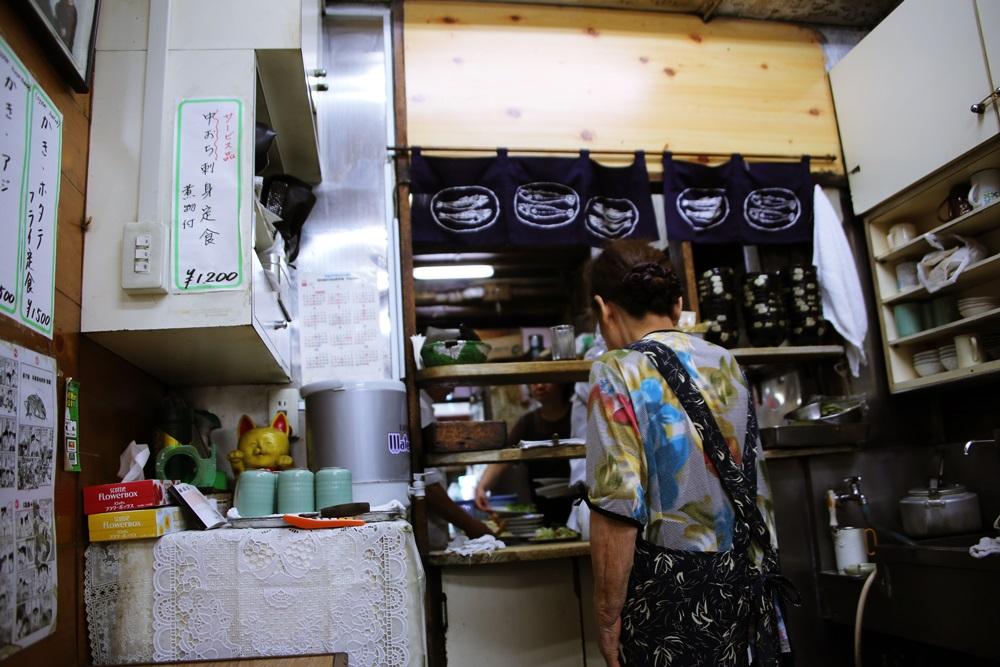 とんかつ八千代 チャーシューエッグ定食 tsukijiichiba (2)