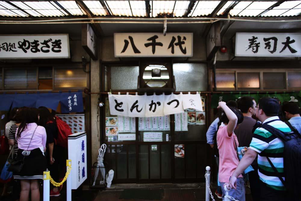 とんかつ八千代 チャーシューエッグ定食 tsukijiichiba-31