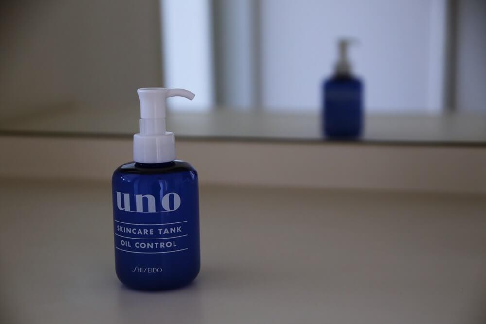 ウーノ スキンケア タンク オイル コントロール 資生堂 uno_skincare_tank_oil_control_shiseido