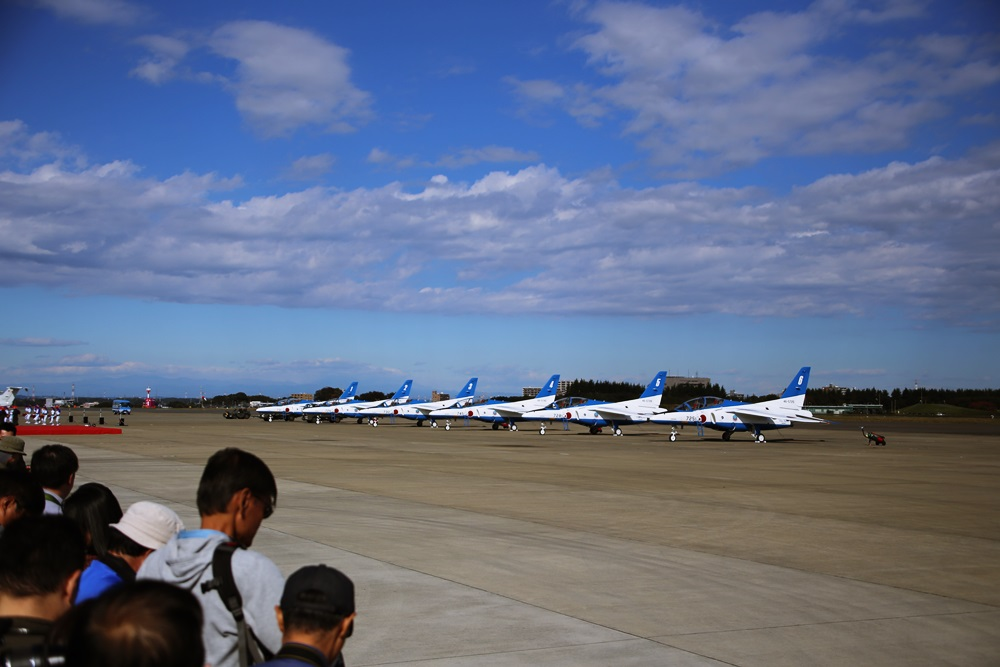 ブルーインパルス 西武池袋線 稲荷山公園駅 2014年入間基地航空祭 2014 iruma  fly team (46)