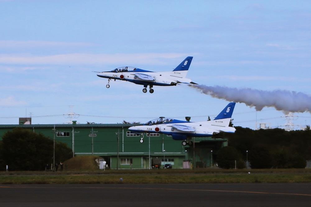 ブルーインパルス 西武池袋線 稲荷山公園駅 2014年入間基地航空祭 Blue Impulse  2014 iruma  fly team (163)