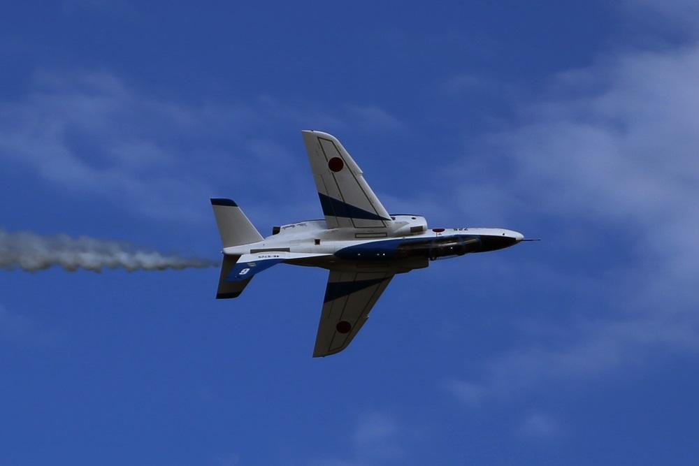ブルーインパルス 西武池袋線 稲荷山公園駅 2014年入間基地航空祭 Blue Impulse 2014 iruma  fly team (220)