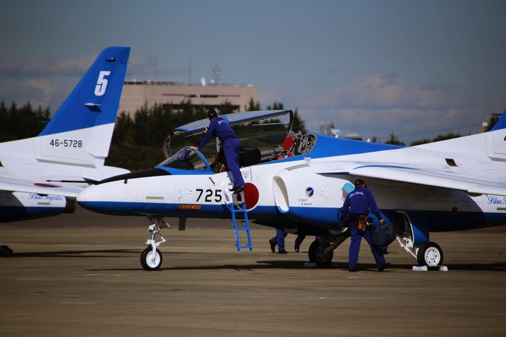 ブルーインパルス 西武池袋線 稲荷山公園駅 2014年入間基地航空祭 Blue Impulse 2014 iruma  fly team (55)