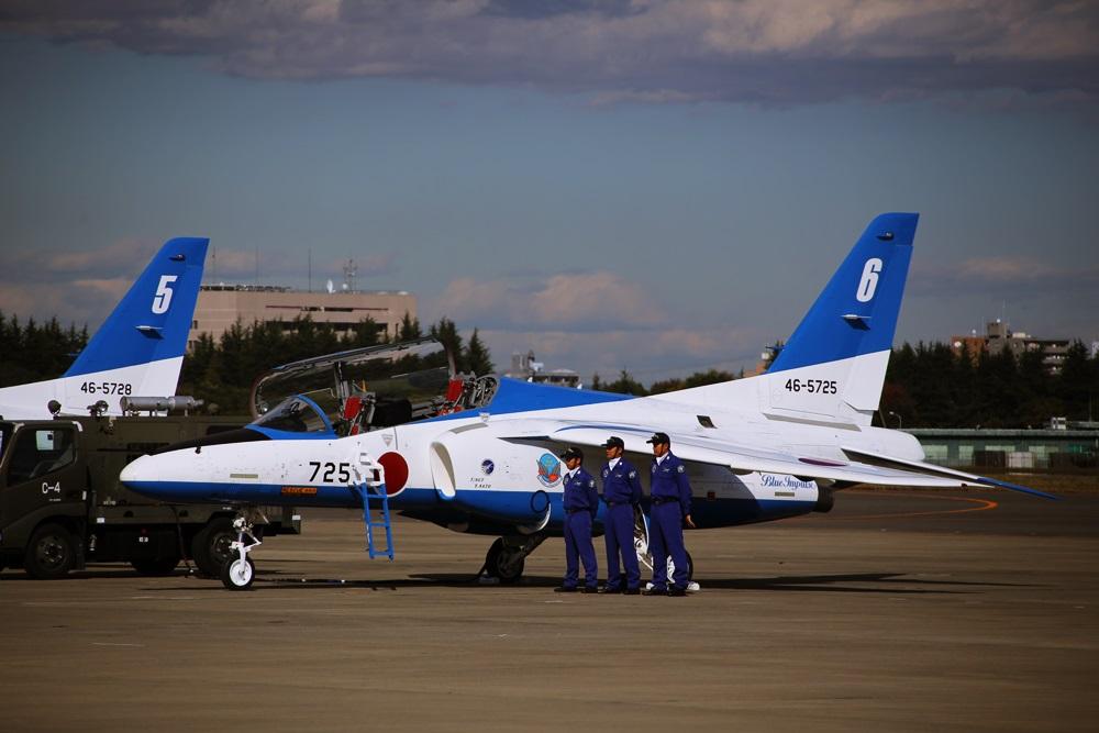 ブルーインパルス 西武池袋線 稲荷山公園駅 2014年入間基地航空祭 Blue Impulse 2014 iruma  fly team (56)