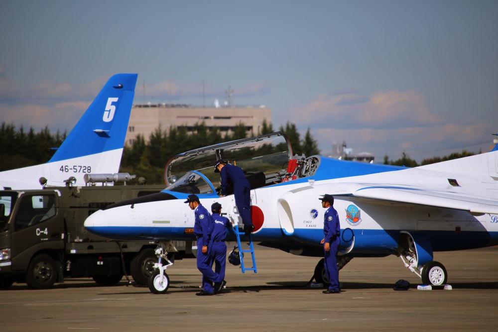 ブルーインパルス 西武池袋線 稲荷山公園駅 2014年入間基地航空祭 Blue Impulse 2014 iruma  fly team (57)