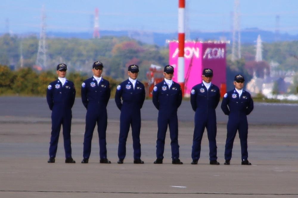 ブルーインパルス 西武池袋線 稲荷山公園駅 2014年入間基地航空祭 Blue Impulse 2014 iruma  fly team (59)