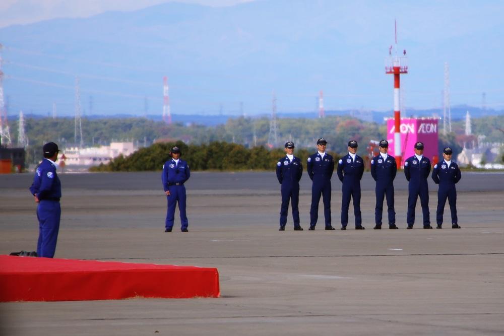 ブルーインパルス 西武池袋線 稲荷山公園駅 2014年入間基地航空祭 Blue Impulse 2014 iruma  fly team (60)