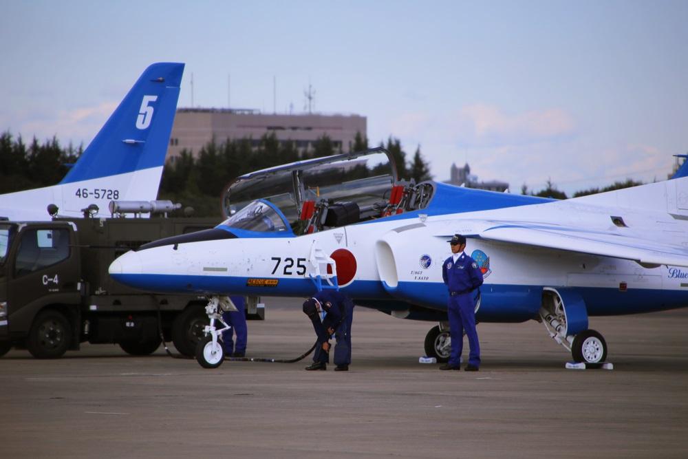 ブルーインパルス 西武池袋線 稲荷山公園駅 2014年入間基地航空祭 Blue Impulse 2014 iruma  fly team (61)