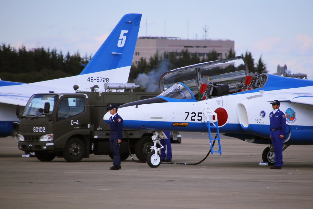 ブルーインパルス 西武池袋線 稲荷山公園駅 2014年入間基地航空祭 Blue Impulse 2014 iruma  fly team (62)