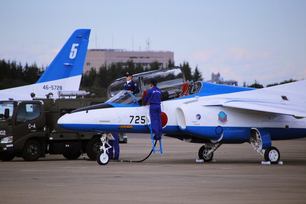 ブルーインパルス 西武池袋線 稲荷山公園駅 2014年入間基地航空祭 Blue Impulse 2014 iruma  fly team (63)