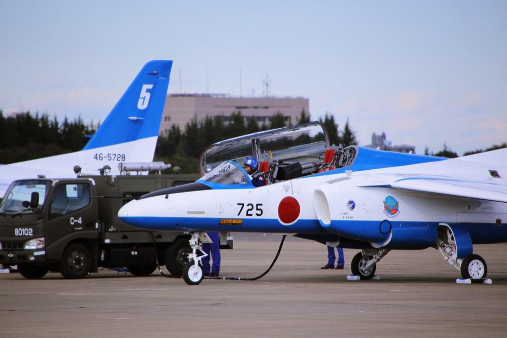 ブルーインパルス 西武池袋線 稲荷山公園駅 2014年入間基地航空祭 Blue Impulse 2014 iruma  fly team (64)