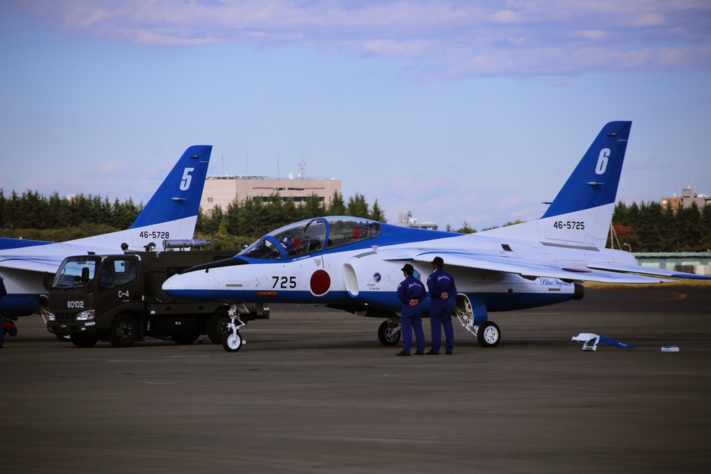 ブルーインパルス 西武池袋線 稲荷山公園駅 2014年入間基地航空祭 Blue Impulse 2014 iruma  fly team (65)