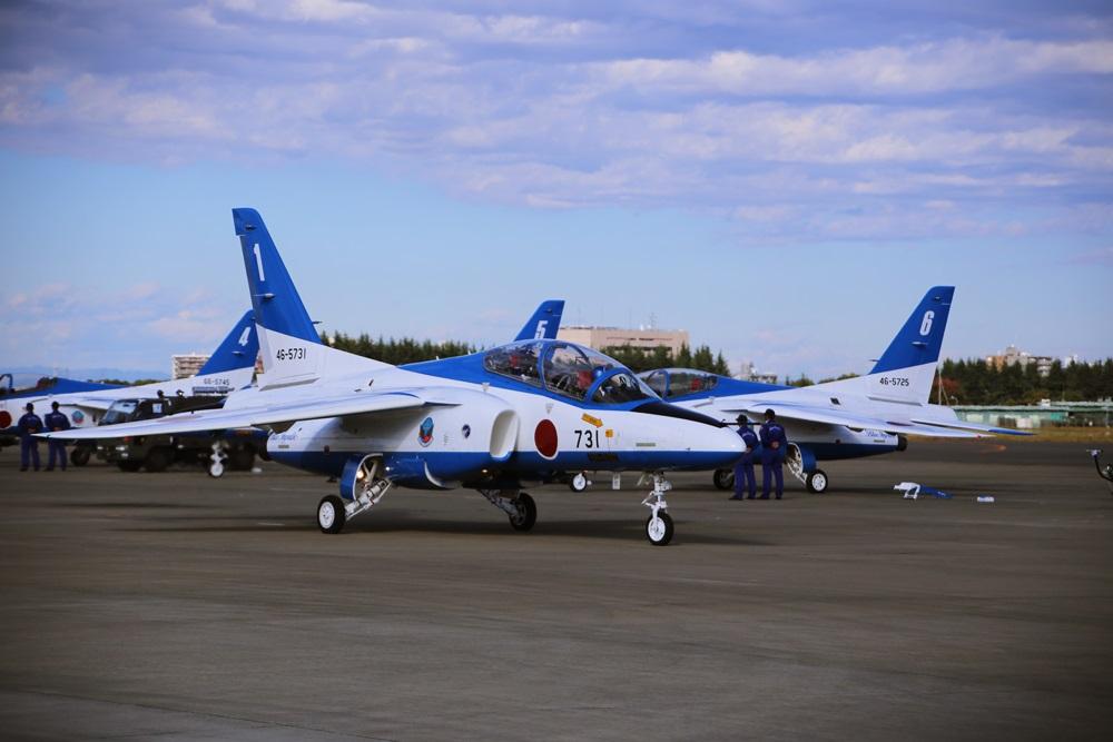 ブルーインパルス 西武池袋線 稲荷山公園駅 2014年入間基地航空祭 Blue Impulse 2014 iruma  fly team (66)