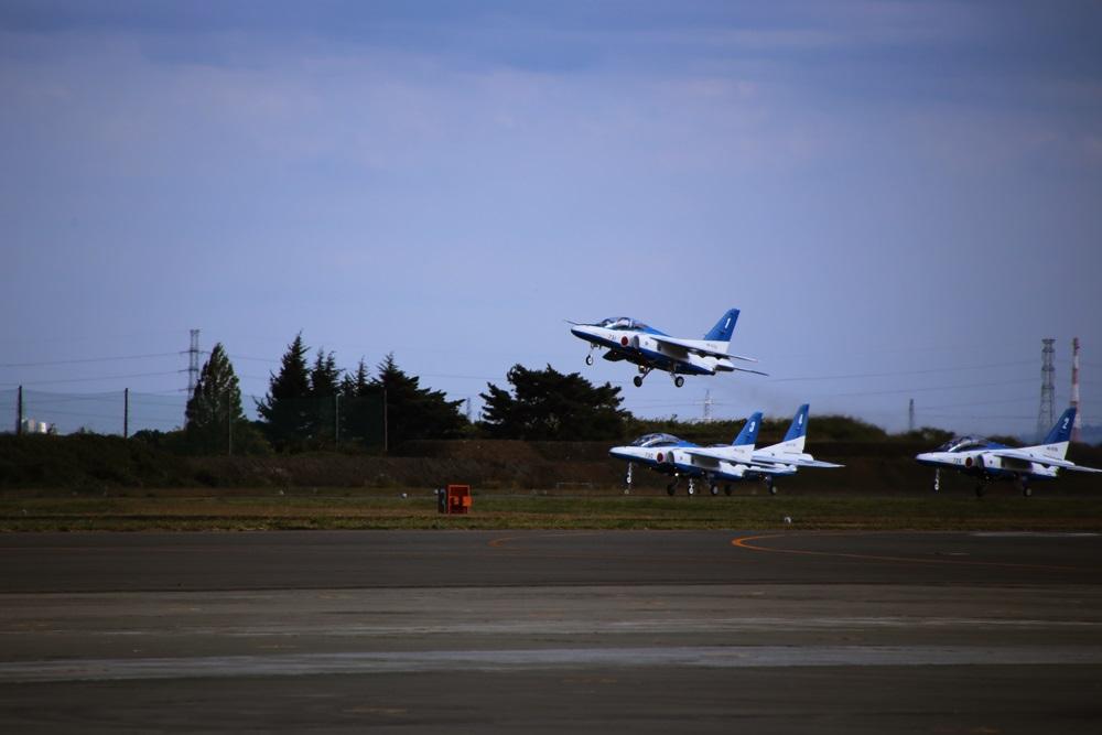 ブルーインパルス 西武池袋線 稲荷山公園駅 2014年入間基地航空祭 Blue Impulse 2014 iruma  fly team (68)