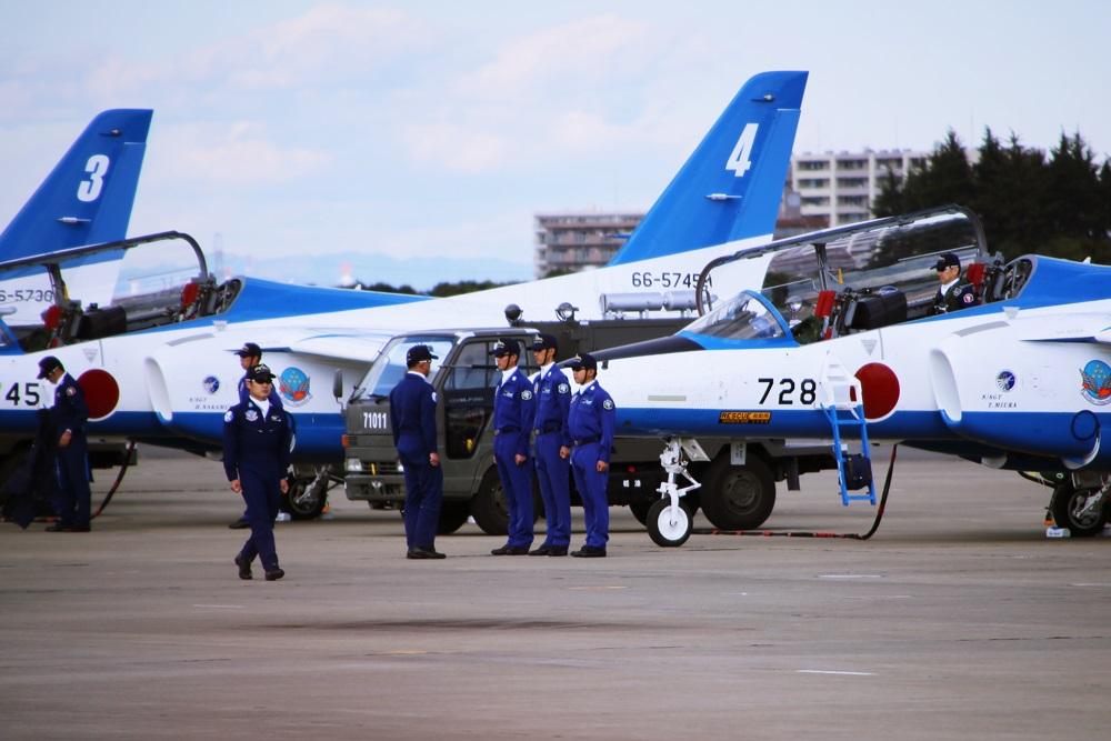 ブルーインパルス 西武池袋線 稲荷山公園駅 2014年入間基地航空祭 Blue Impulse  2014 iruma  fly team (72)
