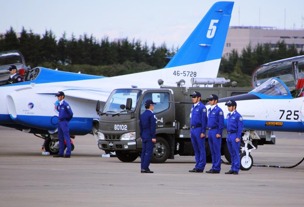 ブルーインパルス 西武池袋線 稲荷山公園駅 2014年入間基地航空祭 Blue Impulse  2014 iruma  fly team (75)