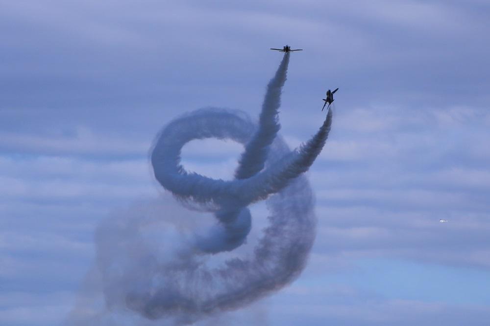コークスクリュー ブルーインパルス 西武池袋線 稲荷山公園駅 2014年入間基地航空祭 CORKSCREW Blue Impulse 2014 iruma  fly team (327)