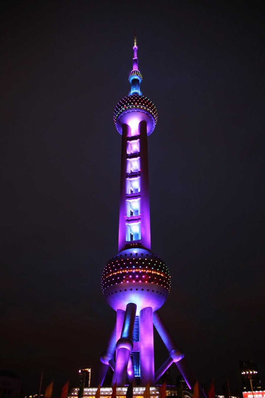 東方明珠電視塔 Oriental Pearl Tower_shanghai (1)