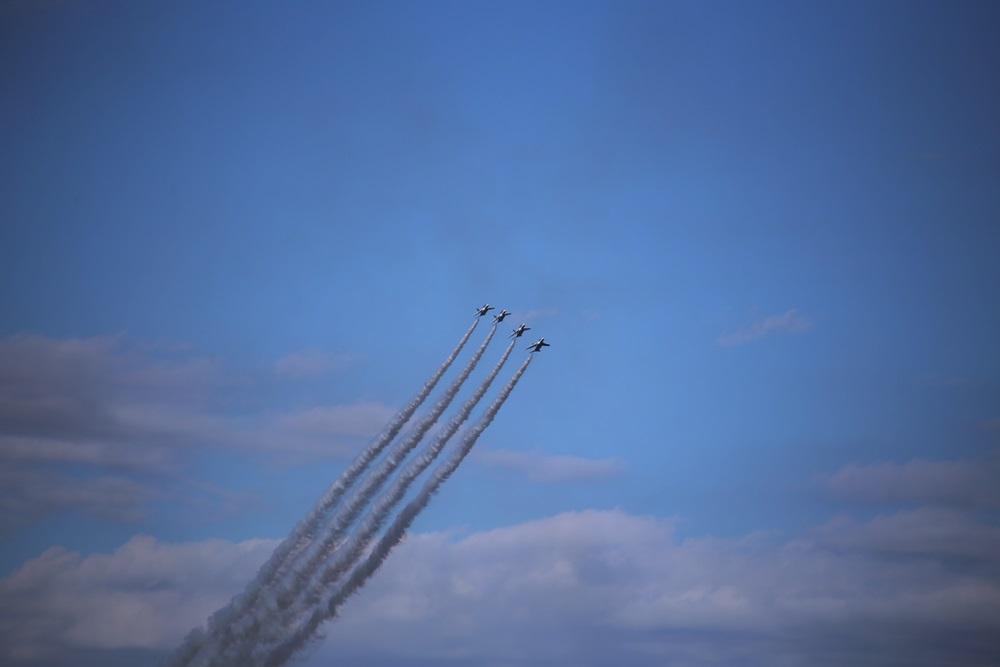 ローリングコンバットピッチ  ブルーインパルス 西武池袋線 稲荷山公園駅 2014年入間基地航空祭 ROLLING COMBAT PITCH Blue Impulse 2014 iruma  fly team (303)