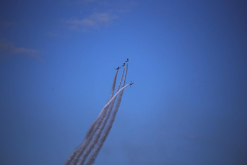 ローリングコンバットピッチ  ブルーインパルス 西武池袋線 稲荷山公園駅 2014年入間基地航空祭 ROLLING COMBAT PITCH Blue Impulse 2014 iruma  fly team (305)