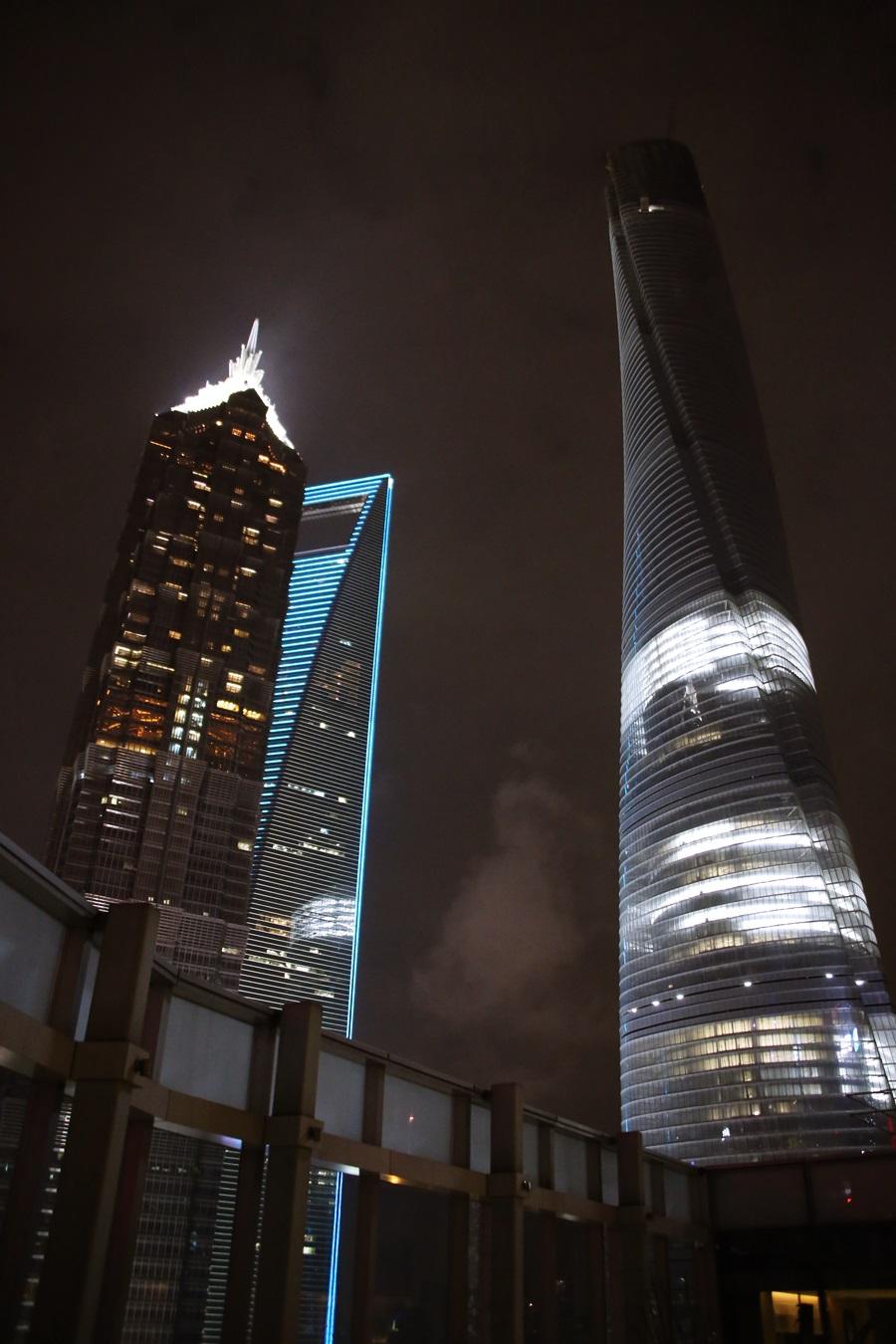 ジンマオタワー Jin Mao Tower 金茂大厦 上海ヒルズ 上海環球金融中心 上海タワー(上海中心)Shanghai Tower