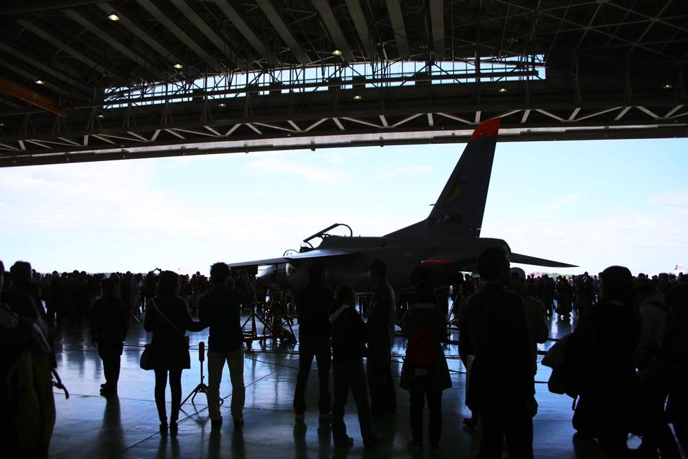 T-4 (練習機) 西武池袋線 稲荷山公園駅 2014年入間基地航空祭 T-4 2014 iruma  fly team (30)