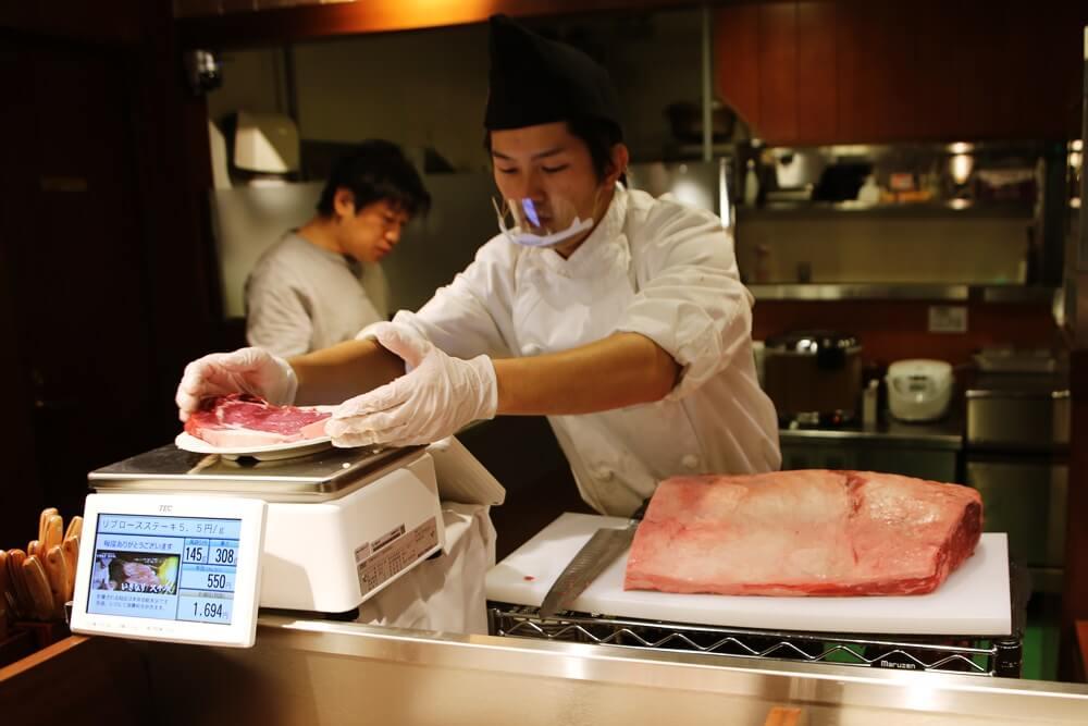 いきなりステーキ リブロースステーキ ikinari_steak (1)