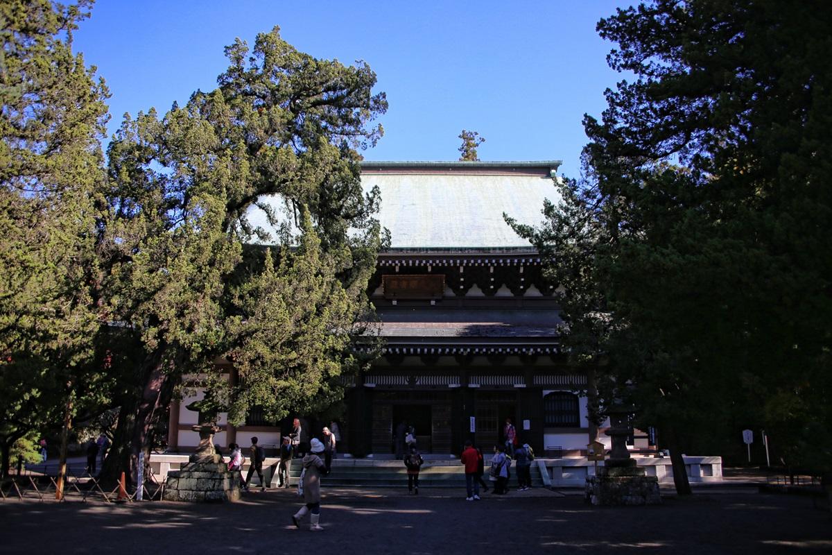 仏殿 孤独の巡礼 北鎌倉 円覚寺 紅葉散策 kitakamakura_engakuji_koyo (9)