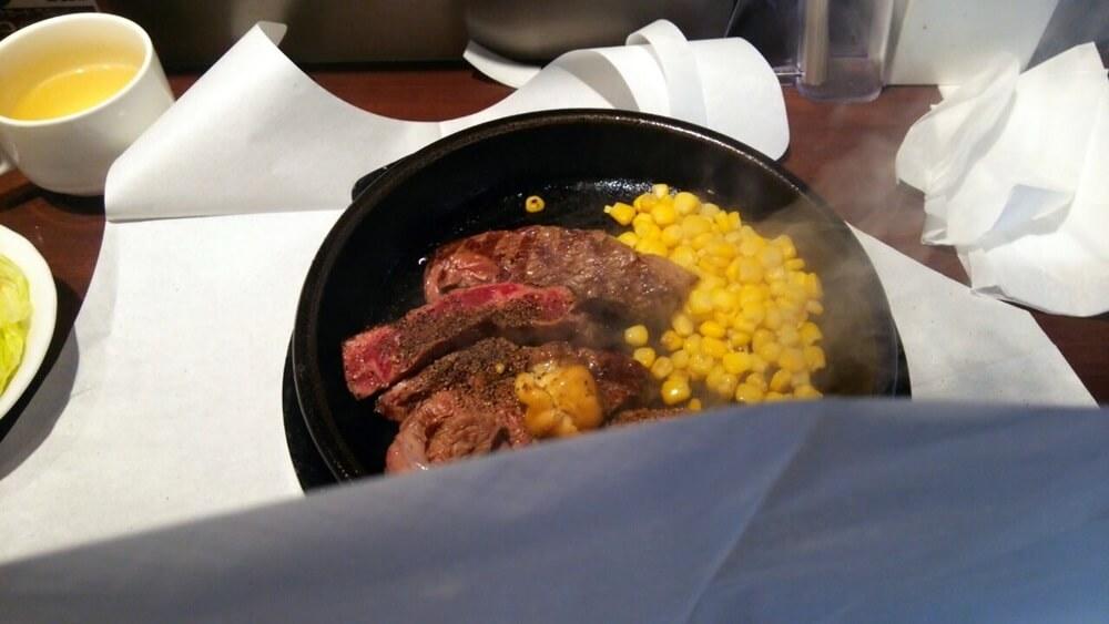 いきなりステーキ ランチ ikinari_steake (2)