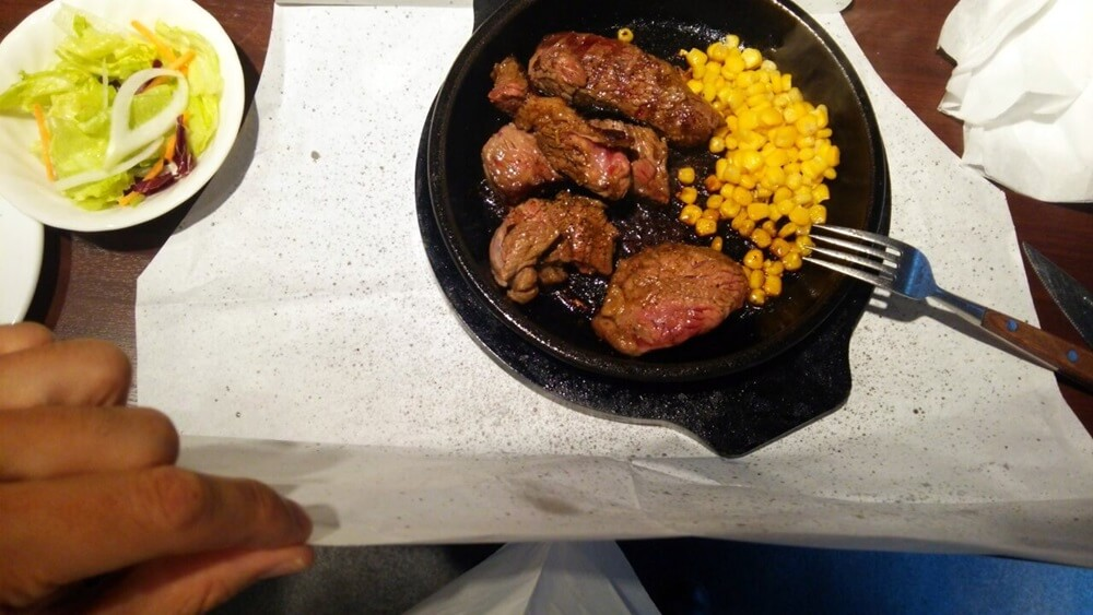いきなりステーキ ランチ ikinari_steake (3)