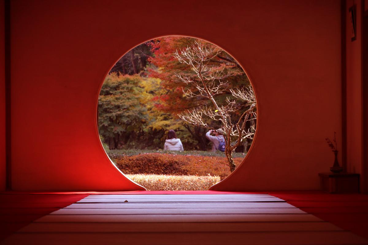 丸窓の北鎌倉 明月院 kitakamakura_meigetuin (8)