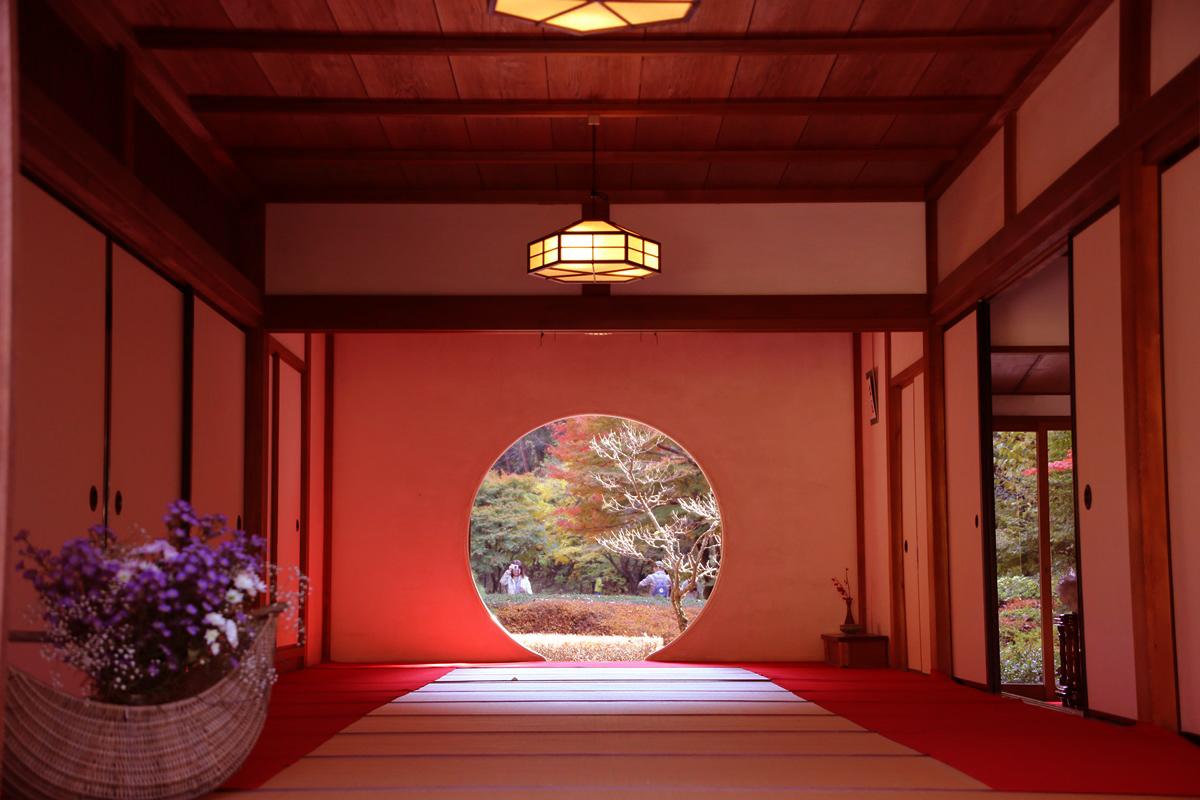 丸窓の北鎌倉 明月院 kitakamakura_meigetuin (9)
