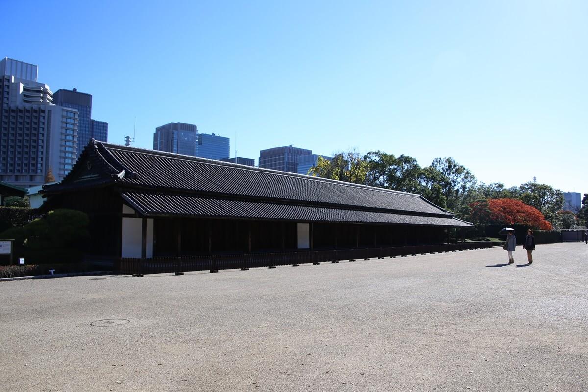 百人番所 旧江戸城跡地の紅葉 kokyo_koyo (12)