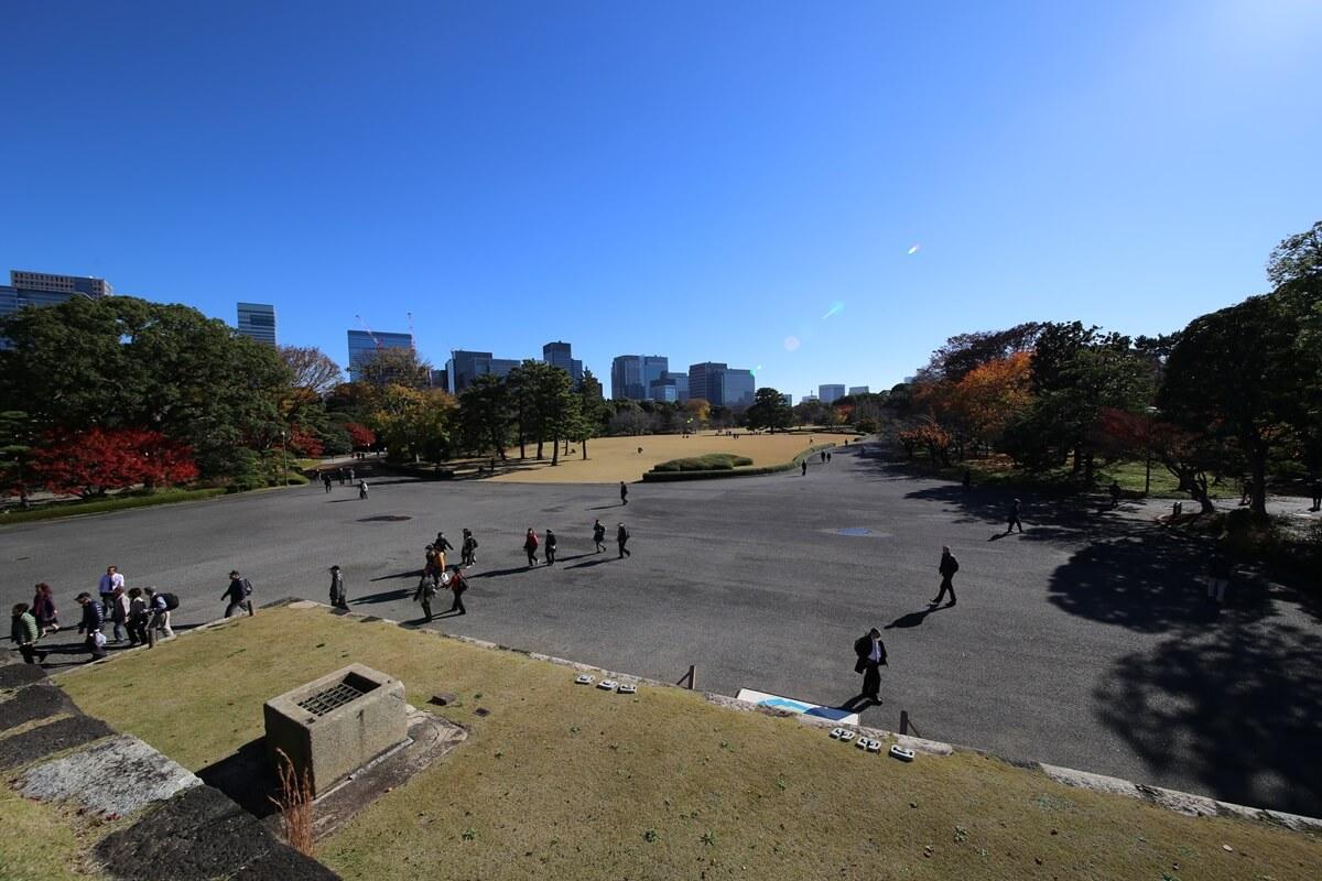 本丸跡地 旧江戸城跡地の紅葉 kokyo_koyo (16)