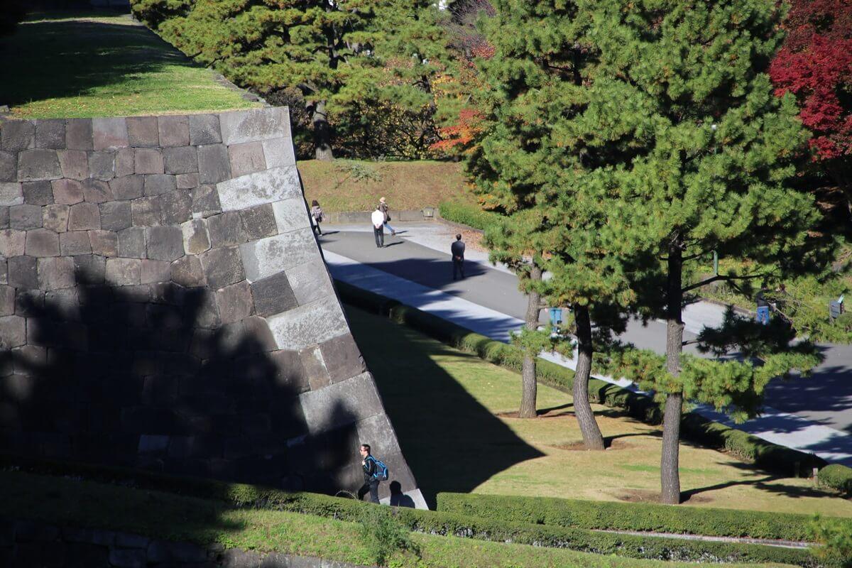 旧江戸城跡地の紅葉 kokyo_koyo (20)