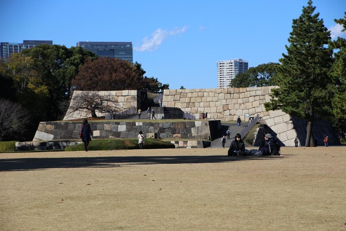 天主台 旧江戸城跡地の紅葉 kokyo_koyo (21)