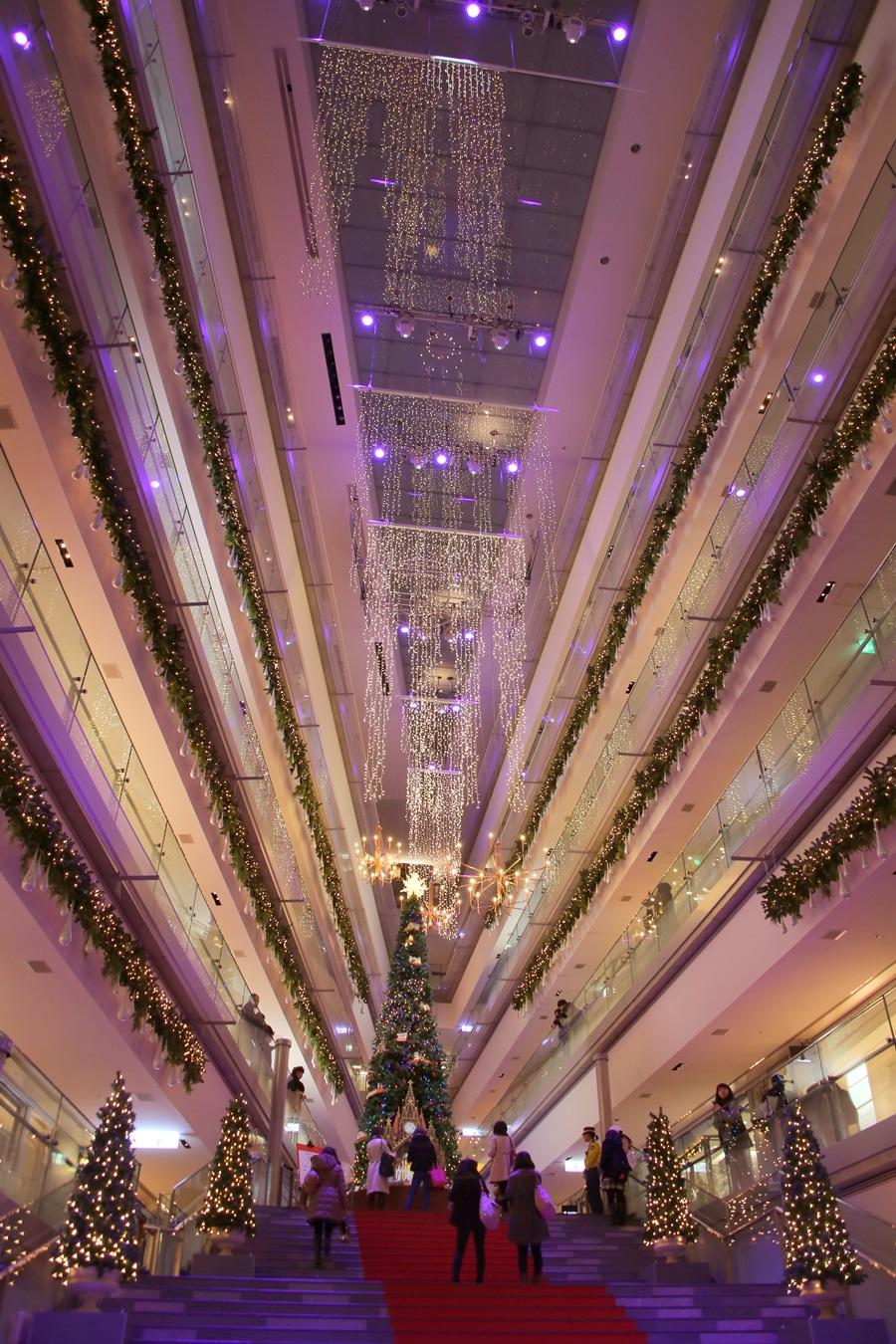 表参道ヒルズ Xmasツリー クリスマスツリー 2014 omotesando_hills_Xmas_tree (1)