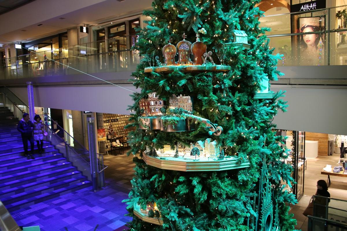 表参道ヒルズ Xmasツリー クリスマスツリー 2014 omotesando_hills_Xmas_tree (4)
