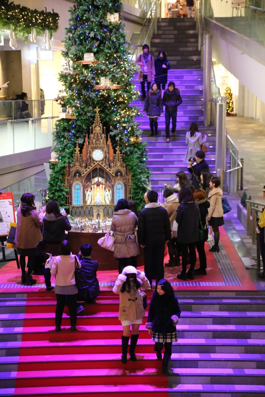 表参道ヒルズ Xmasツリー クリスマスツリー 2014 omotesando_hills_Xmas_tree (9)