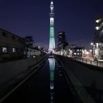 東京スカイツリーの人気夜景撮影スポットご紹介するデス。