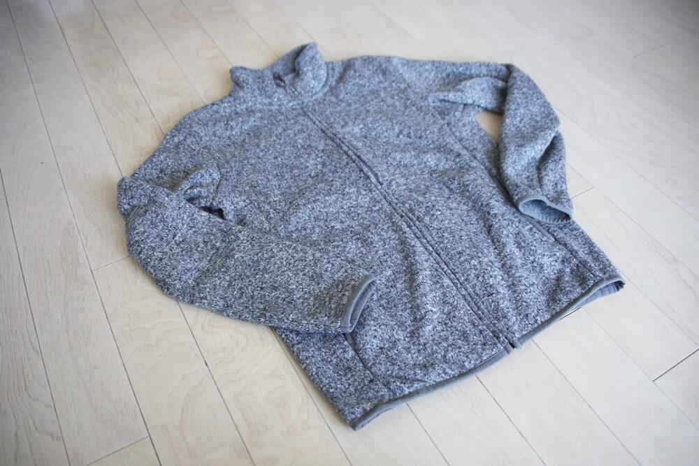 ユニクロ ニットフリースフルジップジャケット ユニクロ ニットフリースフルジップジャケット UNIQLO_knit (2)