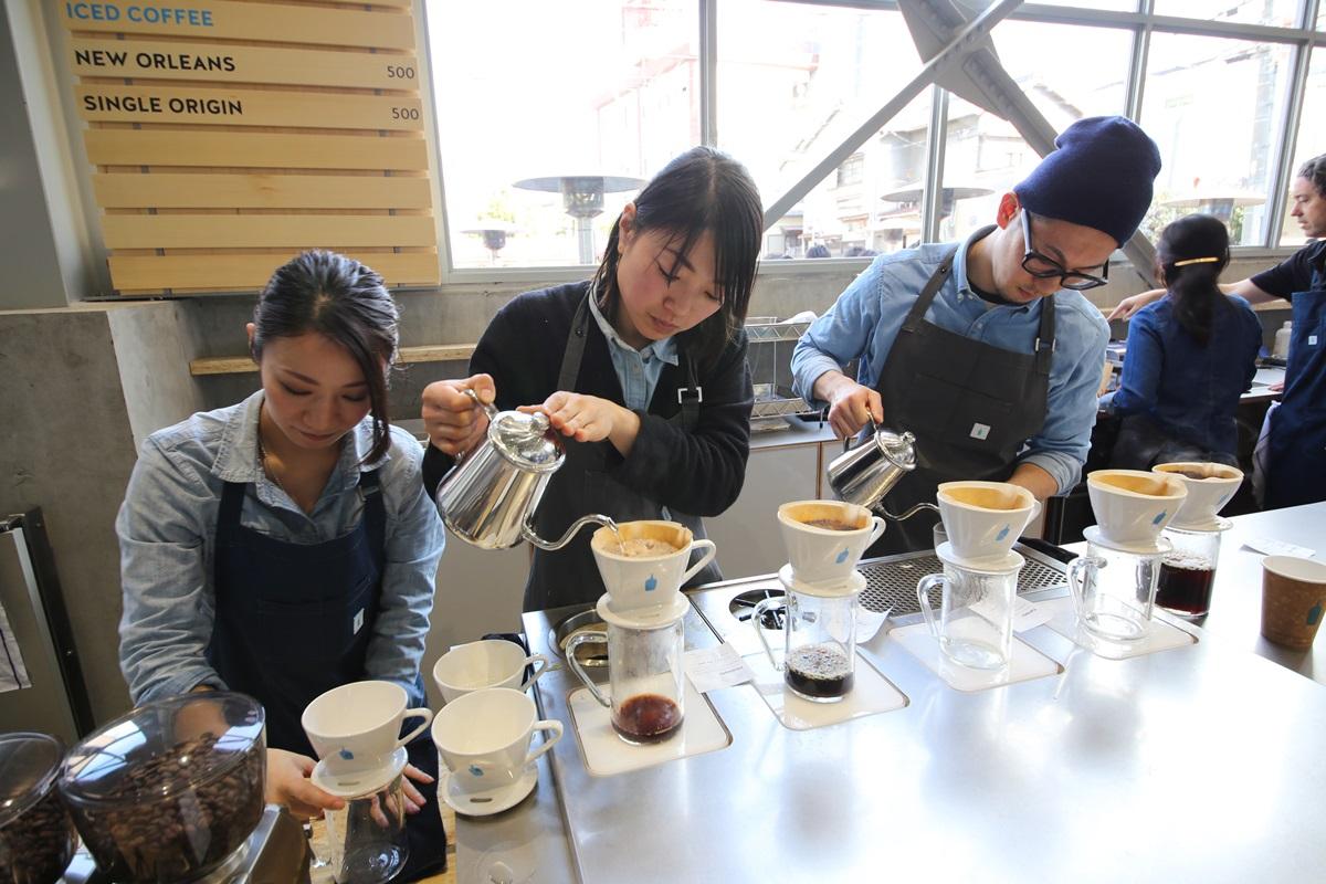 ブルーボトルコーヒー  清澄白河ロースタリー&カフェ Blue Bottle Coffee Japan (20)