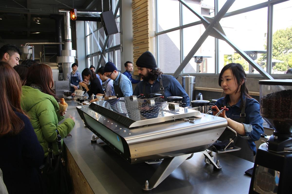 ブルーボトルコーヒー  清澄白河ロースタリー&カフェ Blue Bottle Coffee Japan (27)