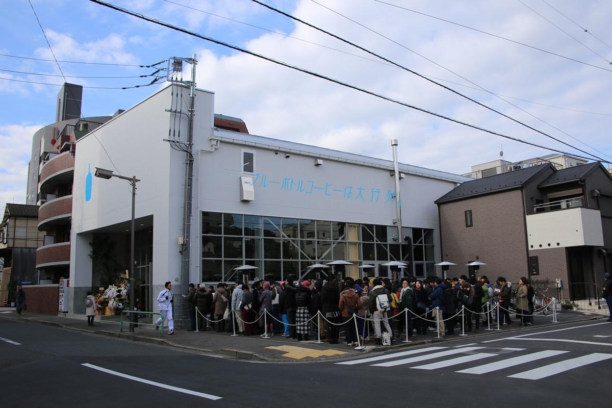 ブルーボトルコーヒー  清澄白河ロースタリー&カフェ Blue Bottle Coffee Japan (4)