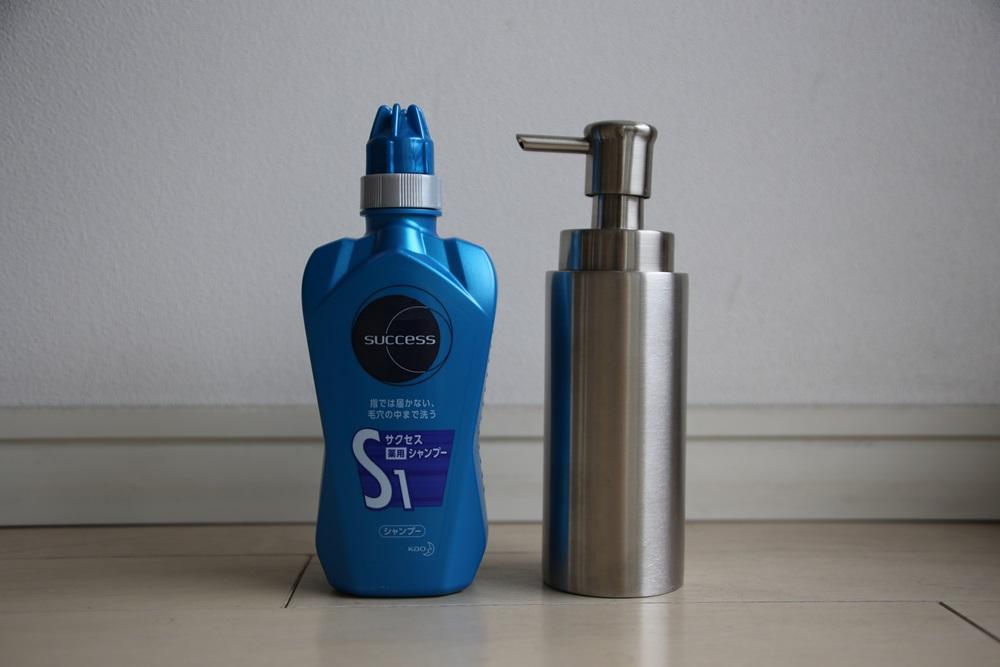 サクセスヘアシャンプー フォームボトル SUCCESS_hair_shampoo_formbottle (4)